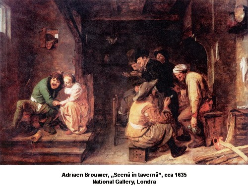 Adriaen_Brouwer Tavern_Scene_-_National_Gallery,_London