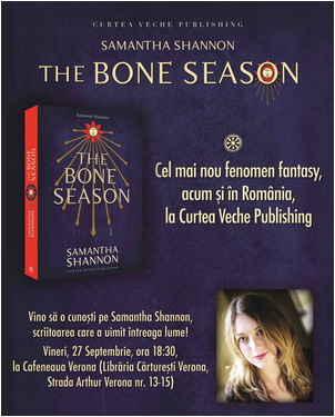 Afis The Bone Season 27 Septembrie 2013
