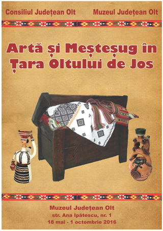 Afis expozitie arta si mestesug slatina