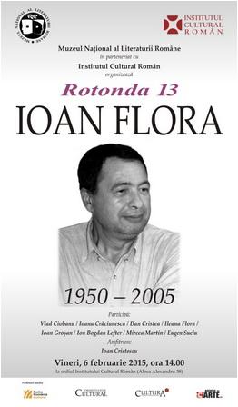 Afis_Rotonda_13_Ioan_Flora_2015