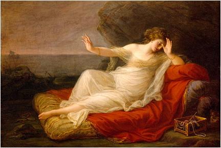 Angelica Kauffmann Ariadna abandonata de tezeu 1774