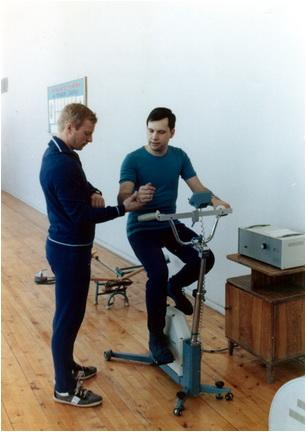 Antrenamente în Oraselul Stelar dumitru prunariu zbor cosmos in 1981