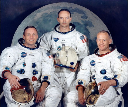 Armstrong Collins Aldrin apollo 11