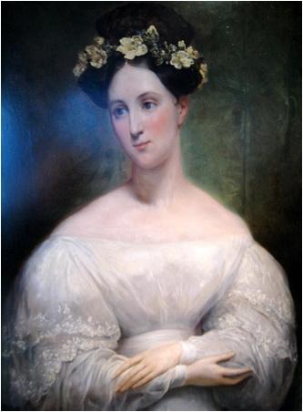 Ary Scheffer portretul probabil al mariei d orleans 1830