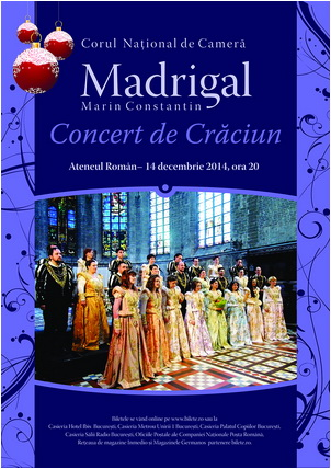 CONCERT DE CRACIUN MADRIGAL
