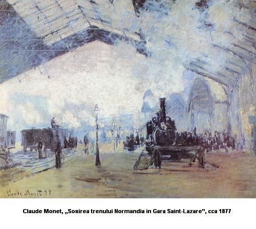 Claude Monet Gara Saint Lazare