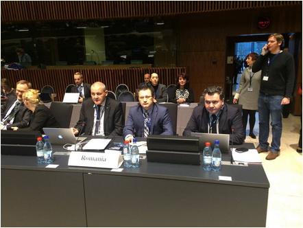 Delegația României la ESA - European Space Agency - copyright Agentia Spatiala Romana (ROSA)
