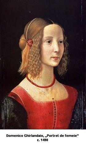 Domenico Ghirlandaio Portret de femeie