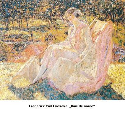 Frederick-Carl-Frieseke-Baie de soare