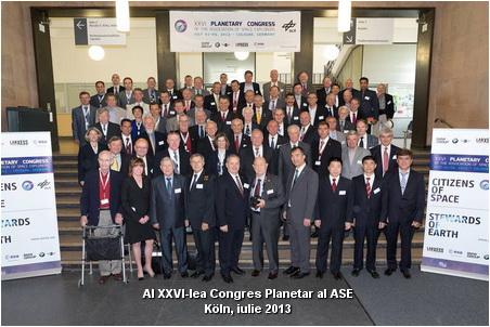Koln, iulie 2013. Al XXVI-lea Congres Planetar al ASE