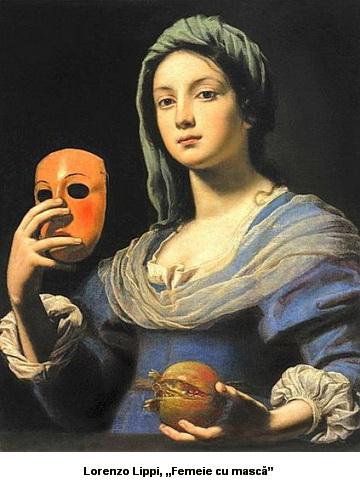 Lorenzo Lippi Femeie cu masca