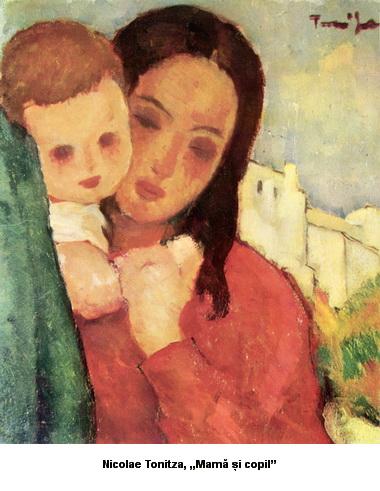 Nicolae Tonitza Mama si copil