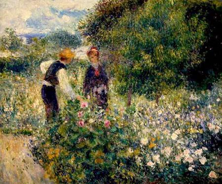 Pierre Auguste Renoir La cules de flori