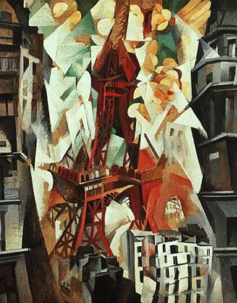 Robert Delaunay Câmpul lui Marte (1911-1913)