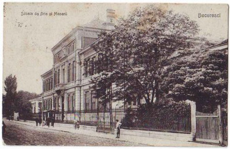 Scoala de Arte si Meserii - 1918