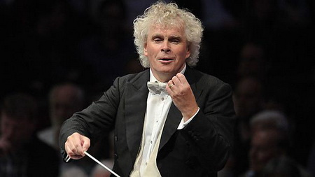 Simon Rattle Foto Chris Christodoulou