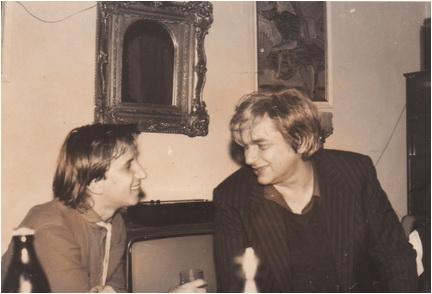 Traian T Cosovei si Nichita Stanescu
