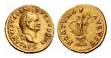 Vespasian_aureus_Fortuna
