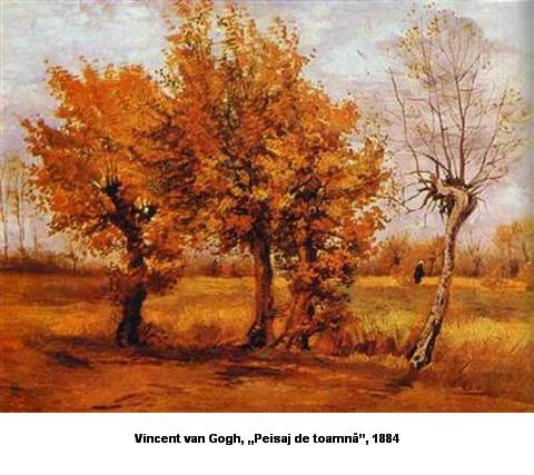 Vincent van Gogh Peisaj de toamnă 1884