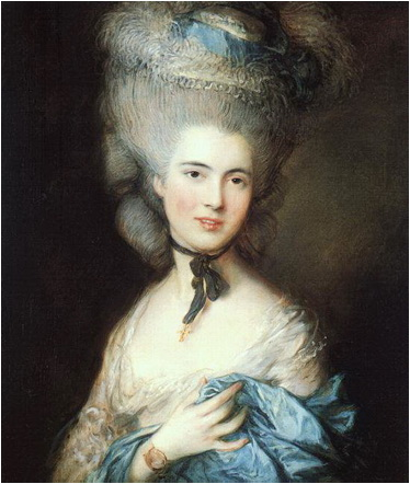 Woman in Blue Thomas Gainsborough