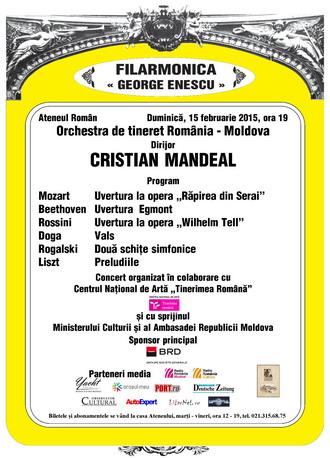 afis 15 feb ateneu orchestra detineret romania moldova