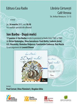 afis-50x70_Ion-Barbu-Dupa-melci