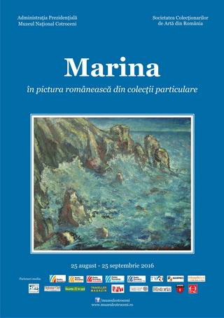 afis marina in pictura romaneasca