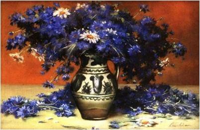 albastrele flori luchian