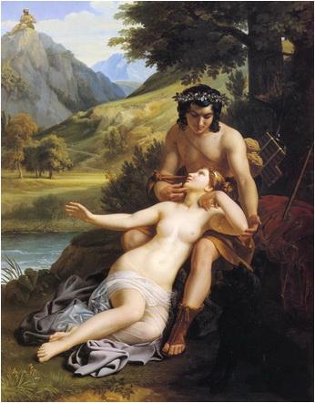 alexandre charles guiilemot dragostea dintre acis si galateea 1827