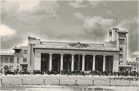 anii-1900-in-bucuresti gara de nord