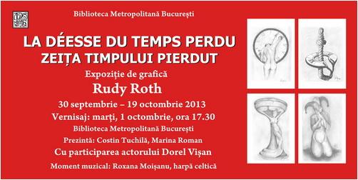 banner expozitie rudy roth