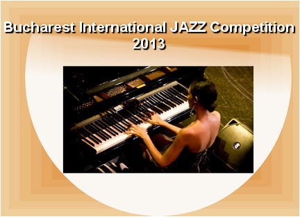 bucharest jazz competiiton 2013