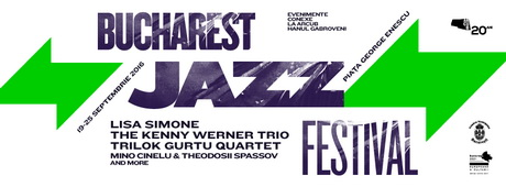 bucharest jazz festival afis