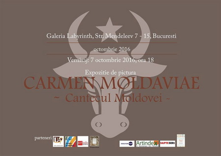 carmen moldaviae afis expozitie