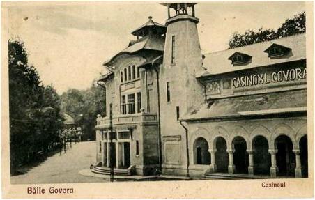 cazinoul govora arh Maria Virginia Andreescu Haret