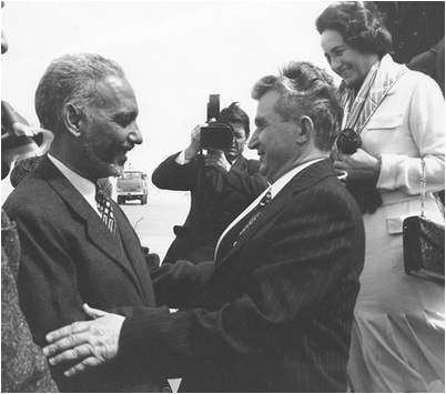 ceausescu in mauritania