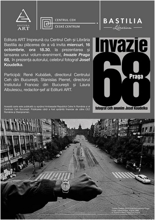 editura art invazie praga 1968 carte album