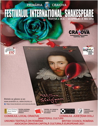 festivalul international shakespeare craiova 450 ani shakespeare