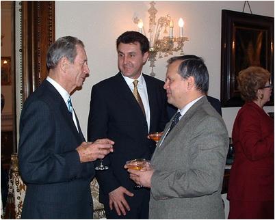 foto 7 Casa NATO, 15 noiembrie 2002, cu Majestatea Sa Regele Mihai I al României _i Alteta Sa Regala, Principele Radu al României