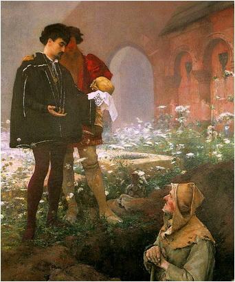 hamlet scena gropari tablou shakespeare