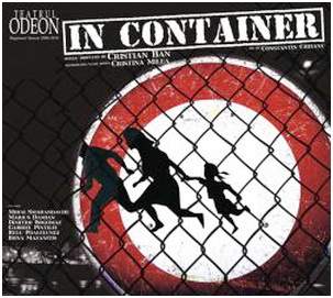 in container teatrul odeon bucuresti