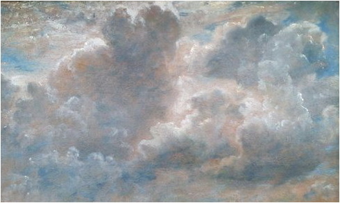 john constable studiu de nori 1822
