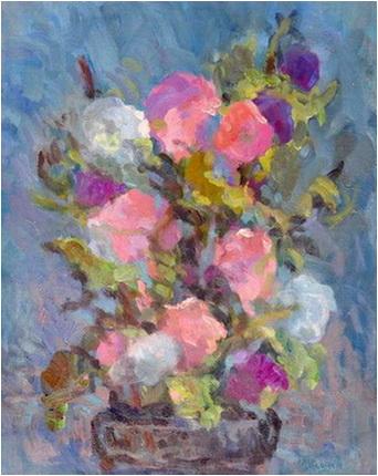 mihai potcoava petunii natura statica flori