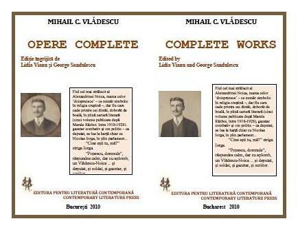 mihail c vladescu opere complete