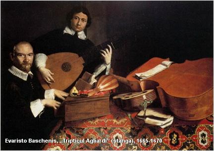 muzica evaristo baschenis triptic agliardi