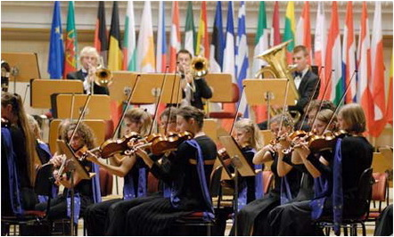 orchestra europeana de tineret