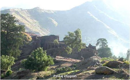 peisaj etiopian