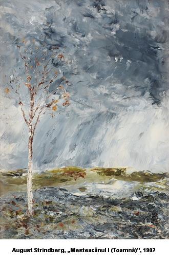 poezia saptamanii de mihail ciupercescu pictura august strindberg