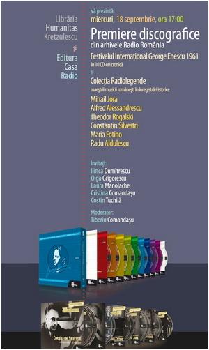 premiere discografice casa radio lansare kretzulescu