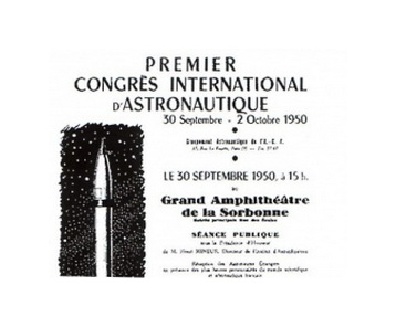 primul congres de astronautica 1950